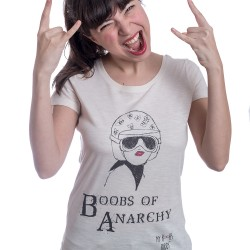 Boobs of anarchy tshirt