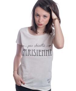 tshirt pas chiante parisienne
