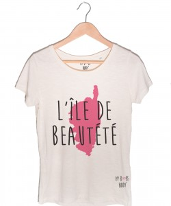 L'île de Beautété shirt tshirt corseL'île de Beautété shirt tshirt corse