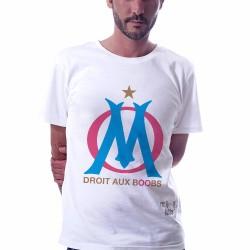 tshirt OM Marseille Classico droit aux boobs