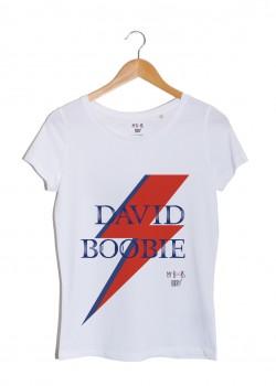david boobie david bowie tshirt femme