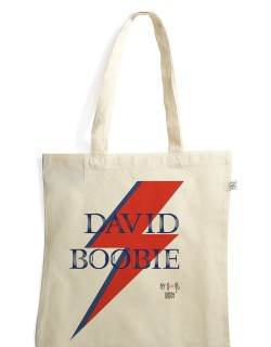 David Boobie sac coton bio tote bag