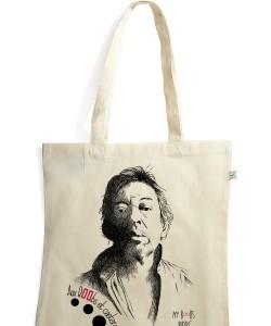 Gainsbourg Gainsboobs sac coton bio tote bag