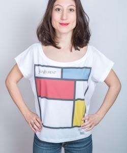 sein-laurent-danseuse-bleu mondrian danseuse t-shirt