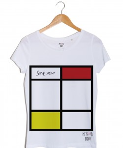 Sein Laurent Rouge tshirt blanc