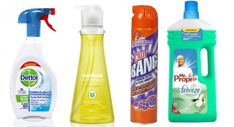 Les 8 produits ménagers que vous devez absolument éviter !