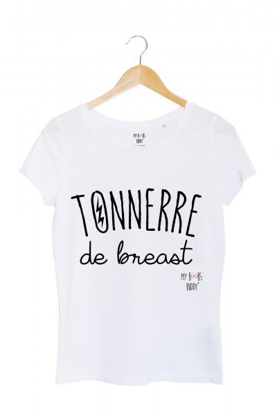 Tonnerre de Breast tshirt femme blanc