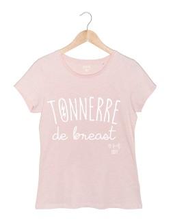 Tonnerre de Breast tshirt femme rose