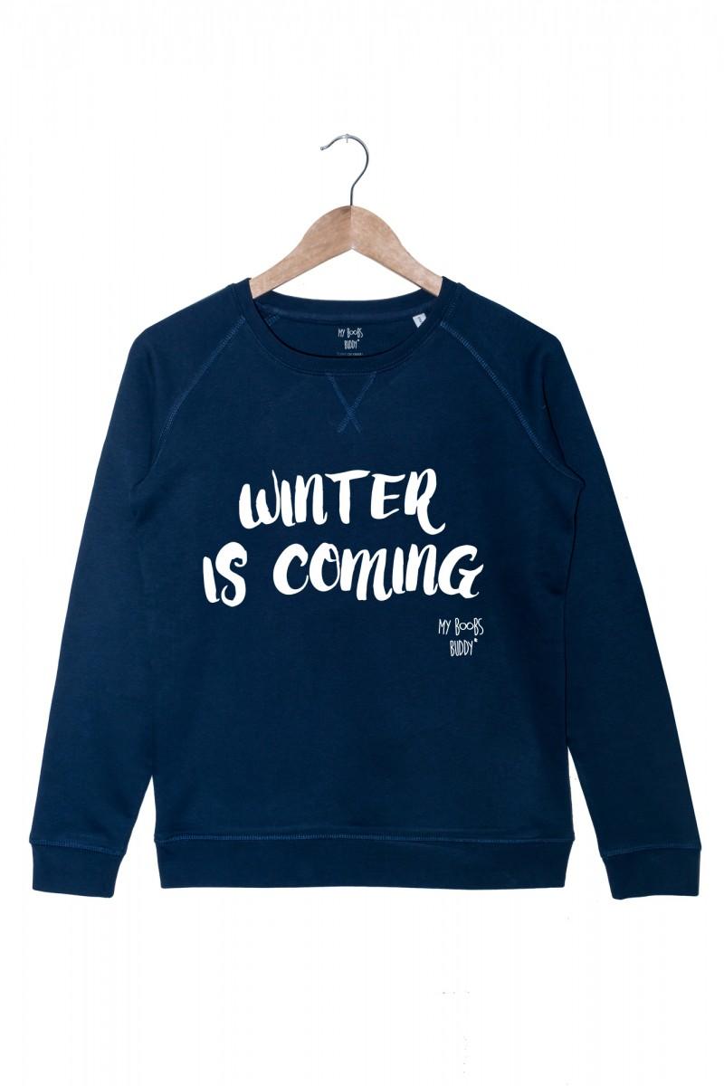 Top Winter is coming (femme) sweat HZ63