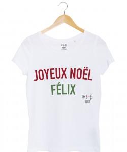 joyeux-noel-felix-femme-tshirt