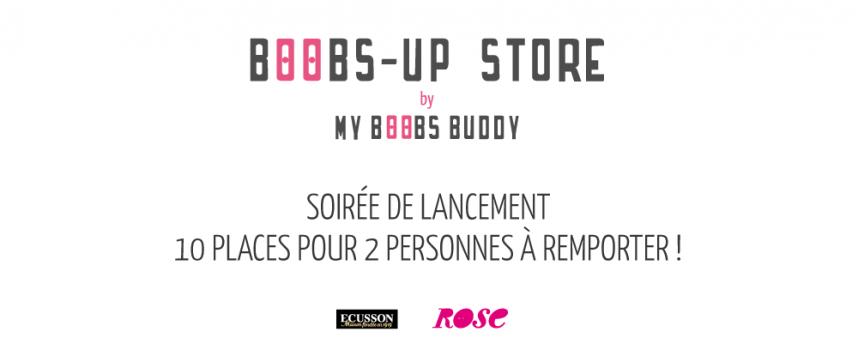 Invitation Boobs-up store