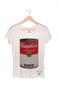 Campboobs warhol t-shirt