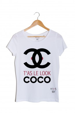 t'as le look coco tshirt