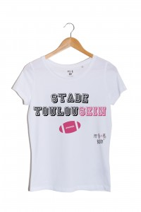 Stade ToulouSEIN tshirt femme rugby