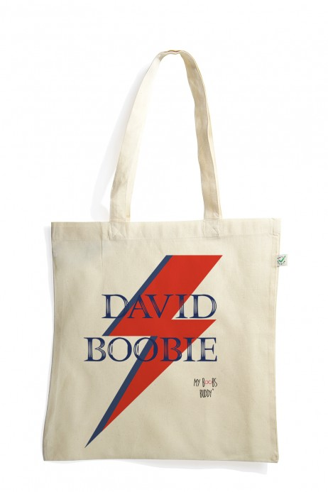 David Boobie sac coton bio tote bag