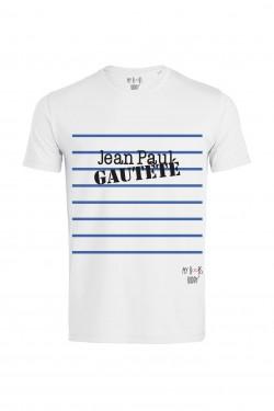 Jean Paul Gautété tshirt homme blanc
