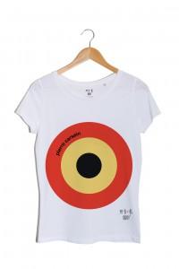 Pierre Carsein n°1 cible tshirt blanc pierre cardin