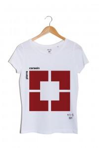 Pierre Carsein n°3 tshirt blanc pierre cardin