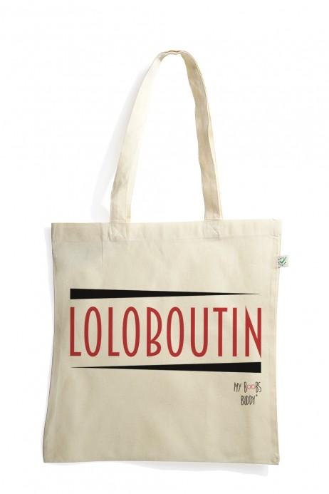 Loloboutin louboutin sac tote bag coton