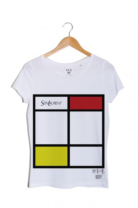 Sein Laurent Rouge tshirt blanc