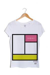 Sein Laurent Rose tshirt blanc