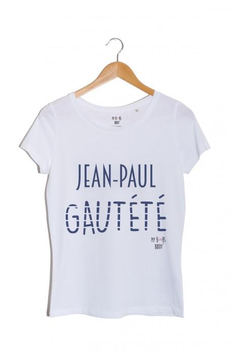 Jean-Paul GAUTÉTÉ TSHIRT BLANC