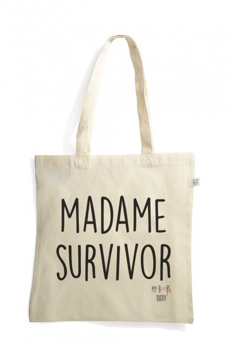 Madame Survivor tote bag sac coton