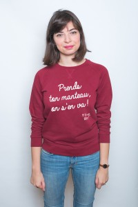 Prends ton manteau, on s'en va ! sweat