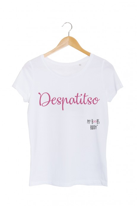 despatitso despacito tshirt femme blanc my boobs buddy