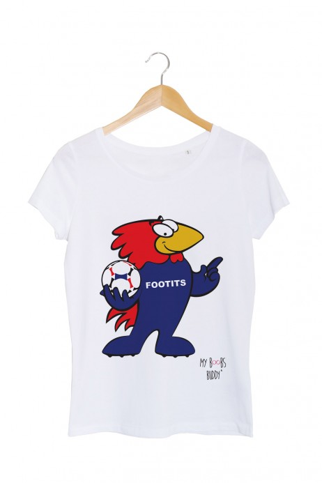 footits grand tshirt footix france 98 football my boobs buddy autopalpation
