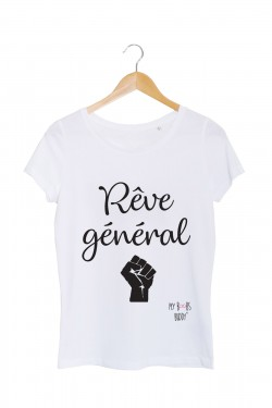reve general grand tshirt femme blanc my boobs buddy
